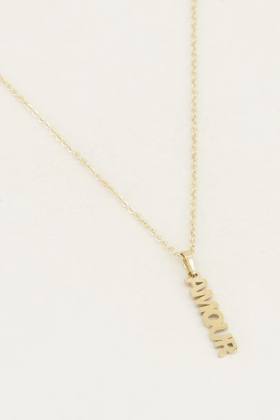 Ketting amour bedel   Liefdes ketting My Jewellery