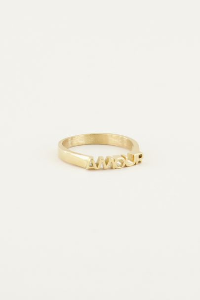 Ring amour | minimalistische ring | My Jewellery