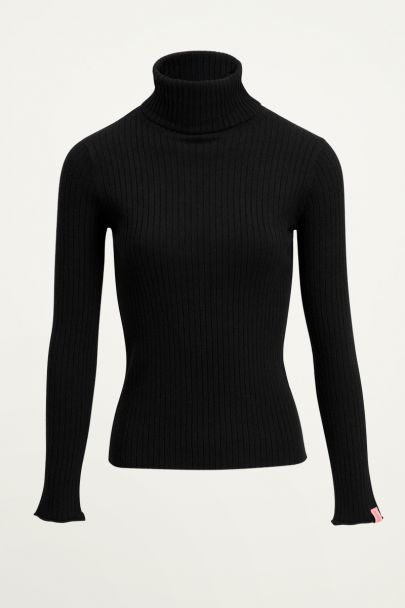 Zwarte turtleneck top | Turtleneck bij My Jewellery
