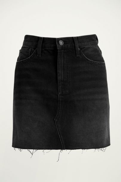 Zwart spijkerrokje | denim skirt My Jewellery