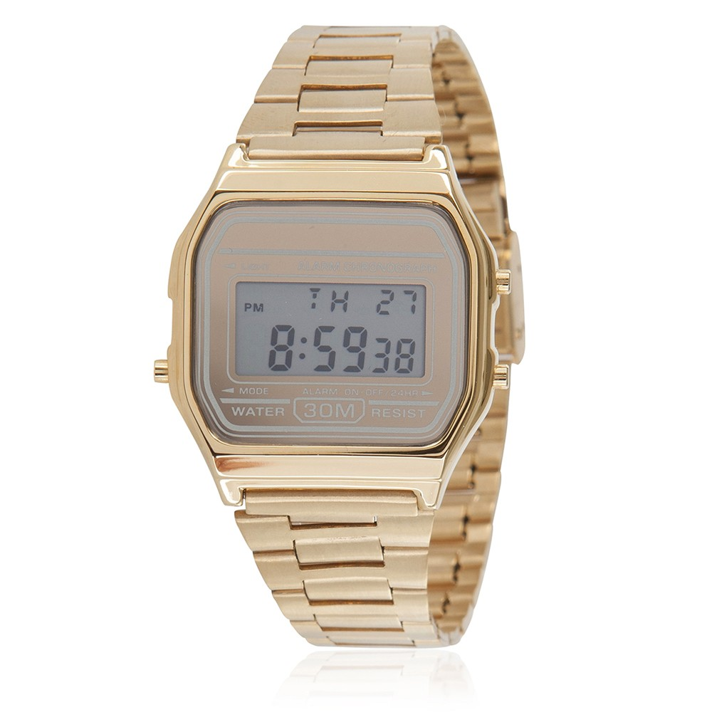 Classic Digital Watch - Gold