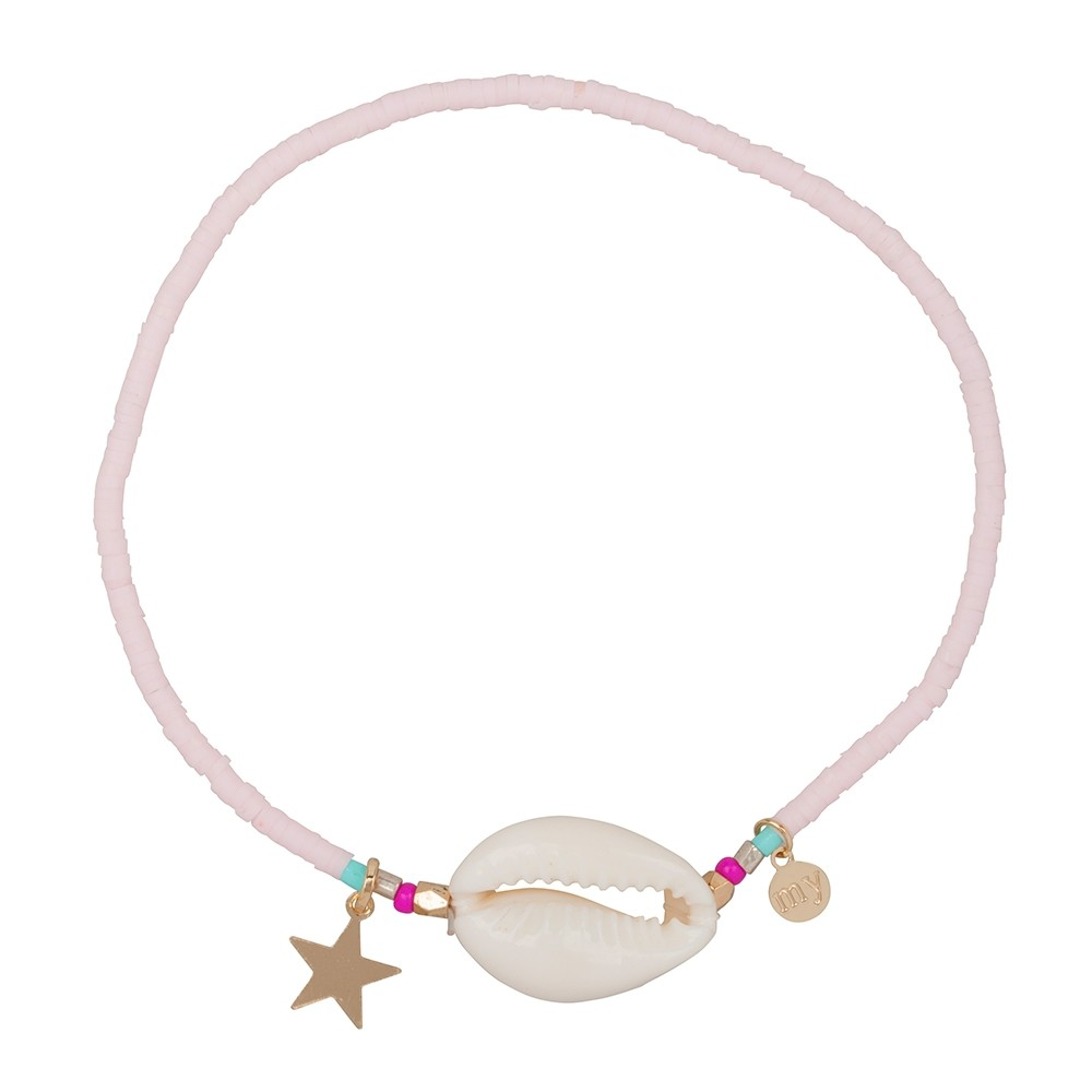 Shell Anklet - Pink
