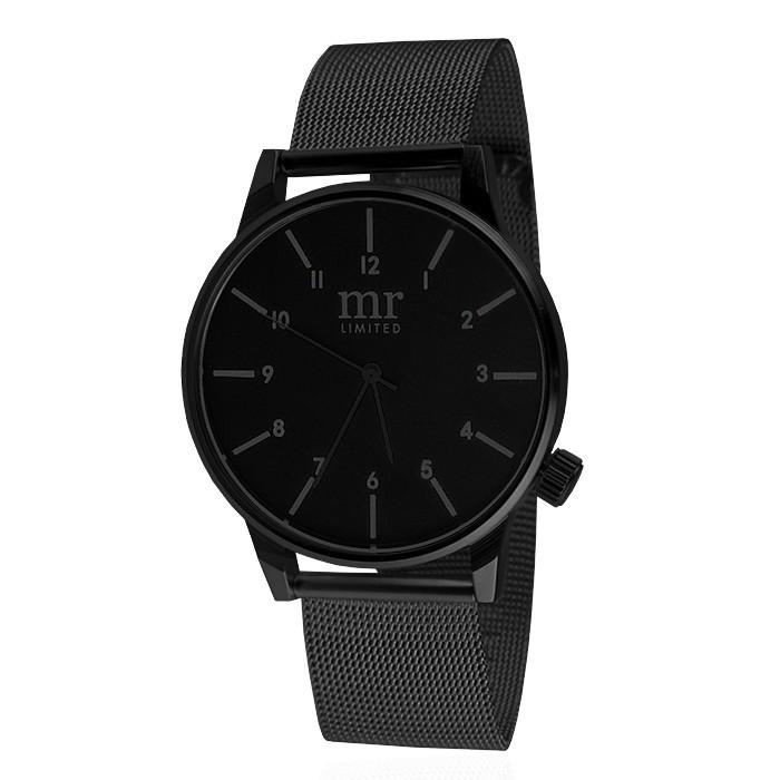 Mr. Jewellery Limited Watch - Black