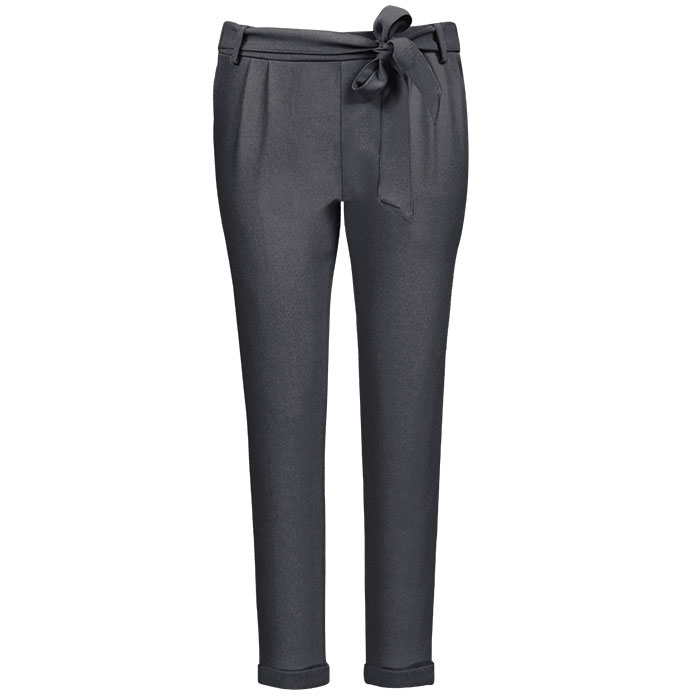 Afbeelding van antraciet pantalon casual,
