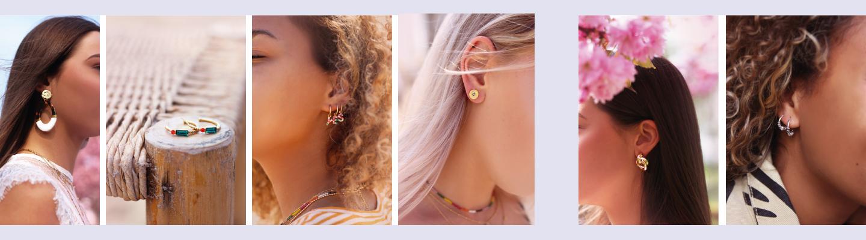 Minimalistische oorbellen,  statement oorbellen, studs