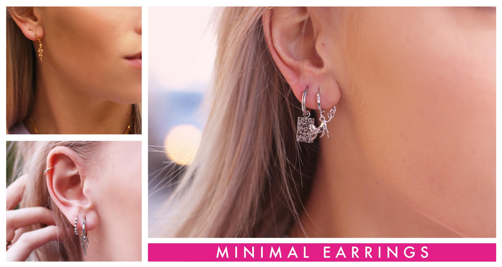 Kleine gouden oorbellen
