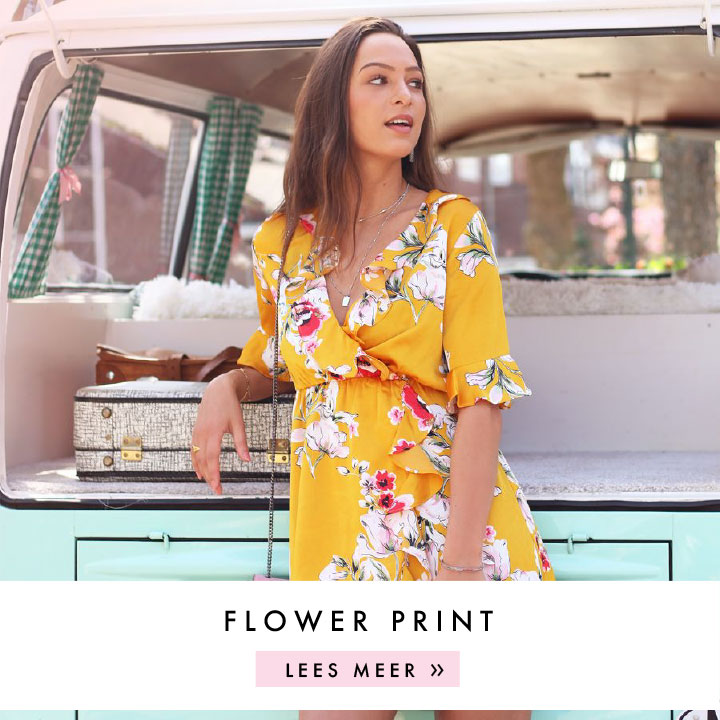 Bloemenprint kleding, bloemenprint jurkjes