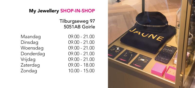 My Jewellery shop-in-shop
