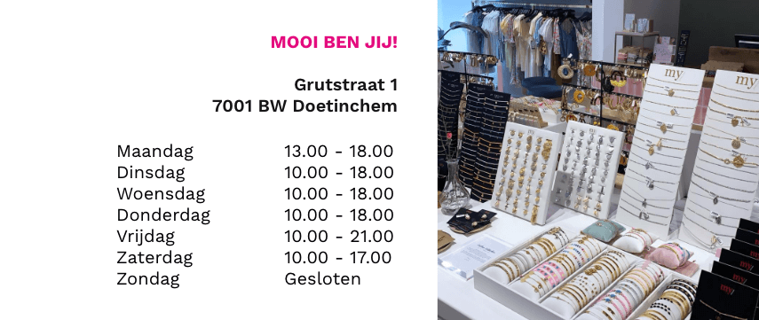 mooi ben jij shop in shop my jewellery