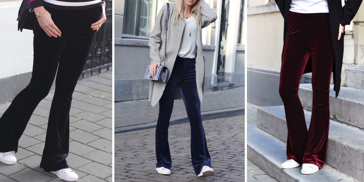 Velvet broeken