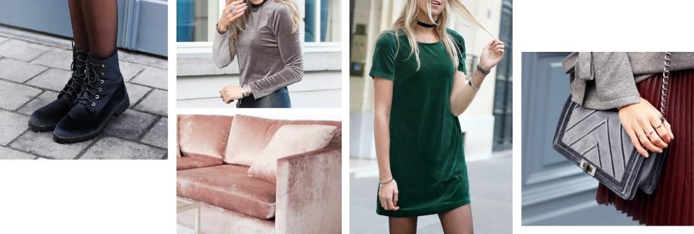Velvet kleding en accessoires