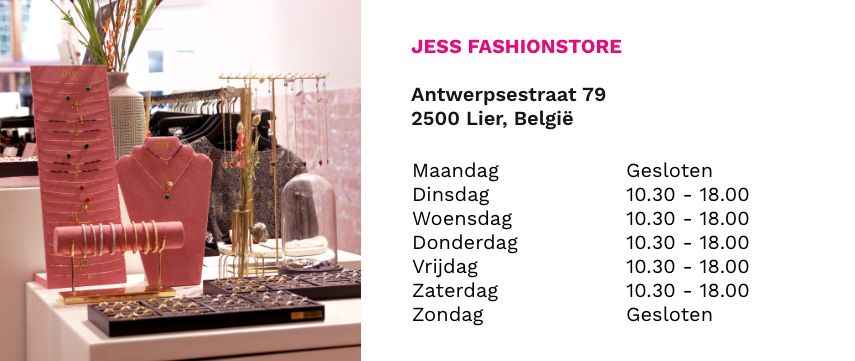 my jewellery shop in shop belgie