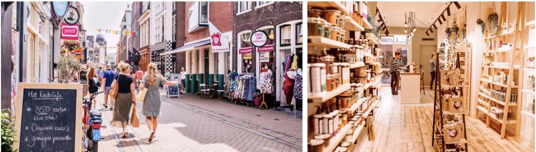 Groningen winkelstraten
