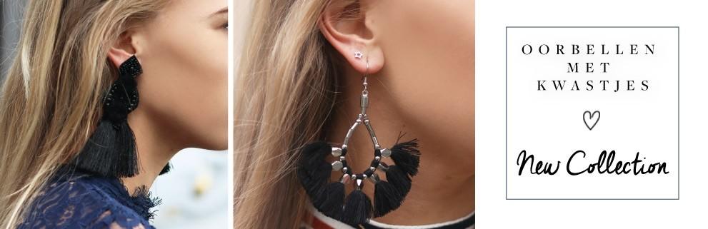 My Jewellery oorbellen met kwastjes