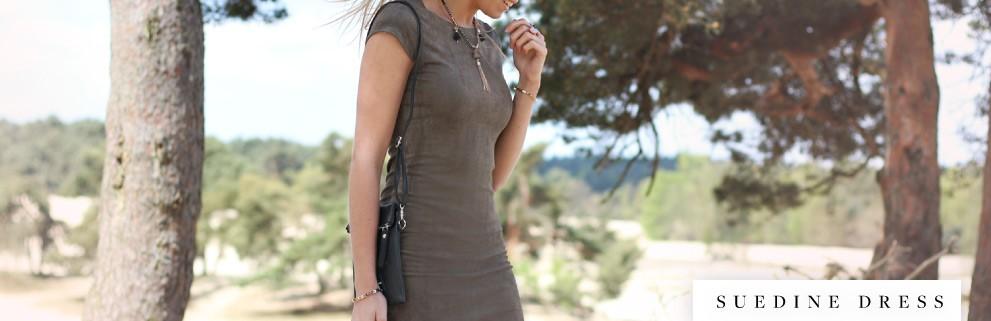 My Jewellery suede jurken