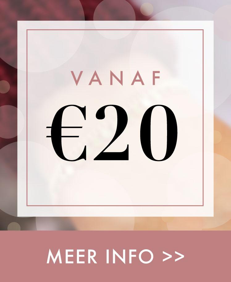 meer info kado's vanaf 20 euro