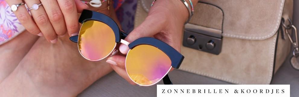 My Jewellery zonnebrillen & koordjes